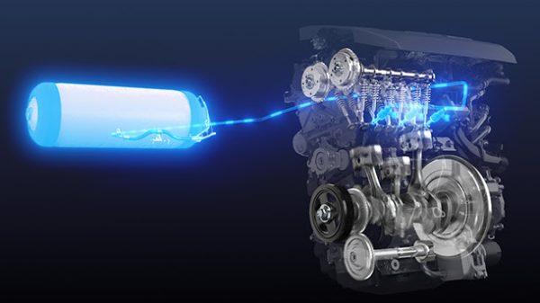 Toyota - Motor de hidrógeno
