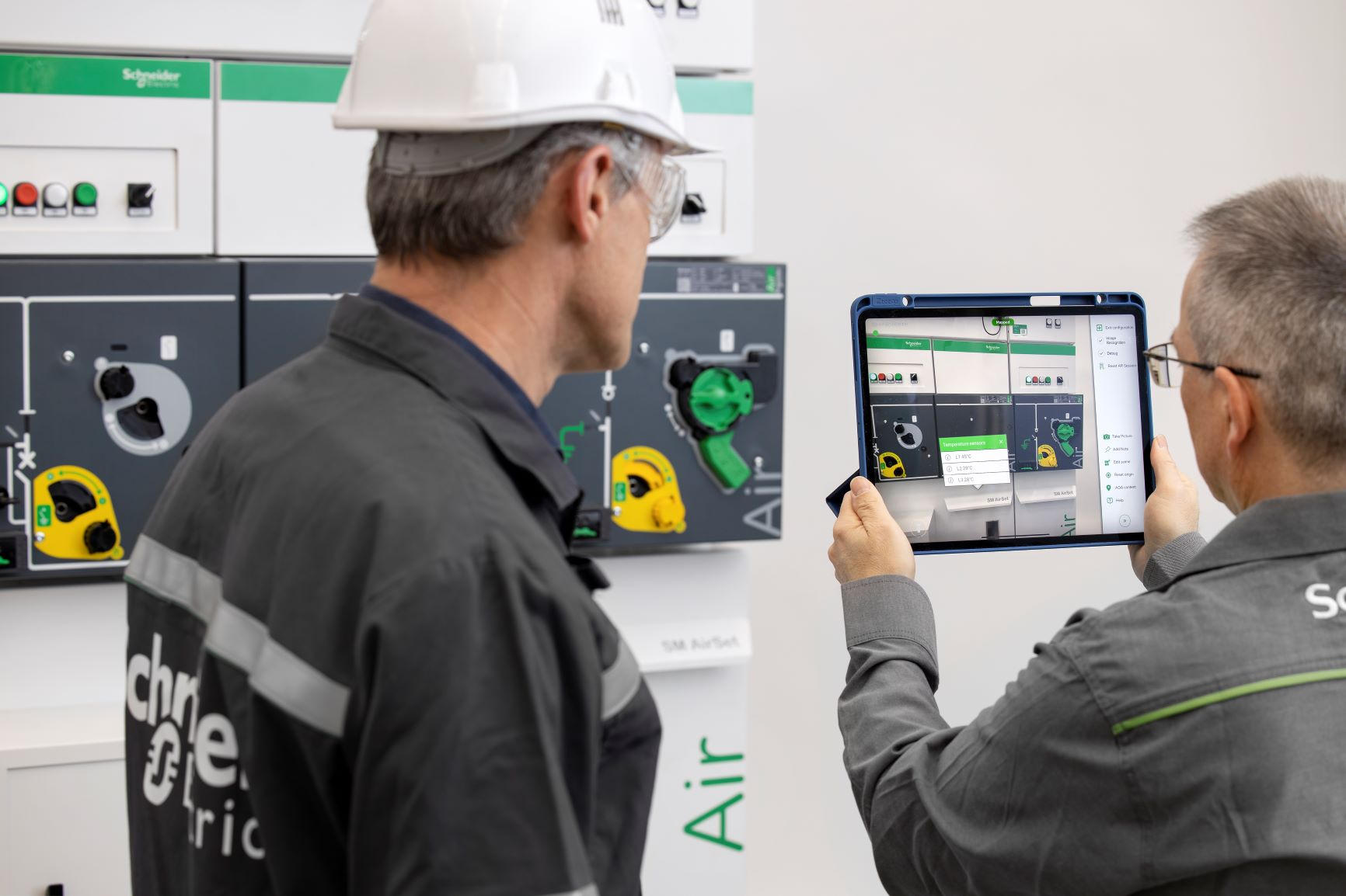 SM AirSeT, una solución de Schneider Electric